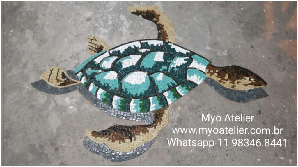 tartaruga mosaico