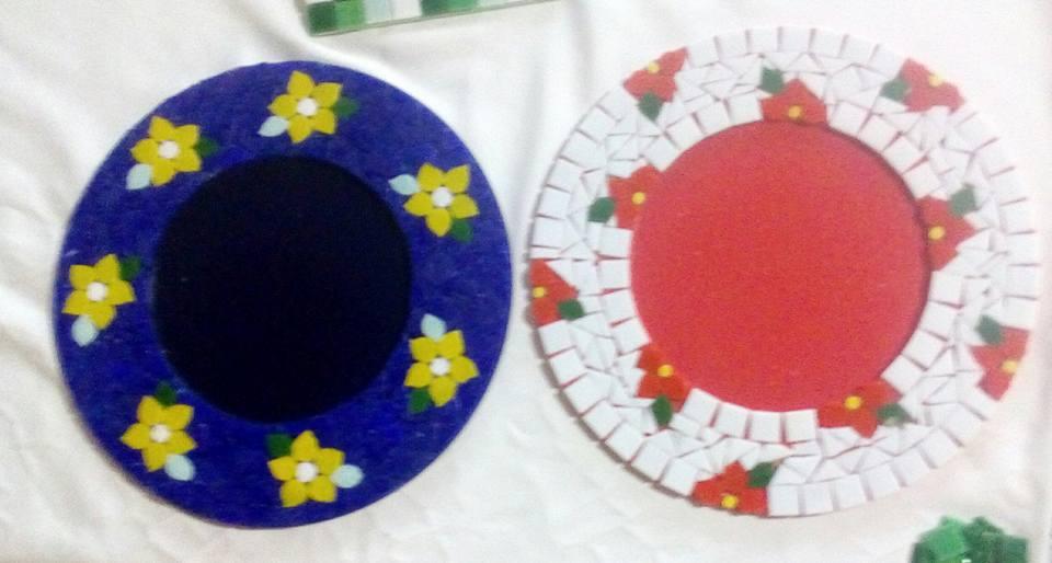 bandeja mosaico