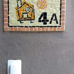 Número mosaico